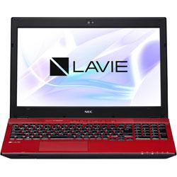 NEC(エヌイーシー) ノートPC LAVIE Note Standard PC-NS750HAR クリスタルレッド [Win10 Home・Core i7・15.6インチ・Office付き・SSHD 1TB]