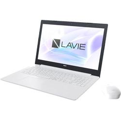 NEC(エヌイーシー) ノートPC LAVIE Note PC-NS150KAW [Win10 Home・Celeron・15.6インチ・Office付き・ストレージ 1TB・メモリ 4GB]