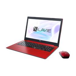 NEC(エヌイーシー) ノートPC LAVIE Note PC-NS150KAR [Win10 Home・Celeron・15.6インチ・Office付き・ストレージ 1TB・メモリ 4GB]