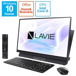 NEC(エヌイーシー) デスクトップPC LAVIE Desk AllinOne PCDA670MAB2 ファインブラック [Core i5・27インチ・Office付き・HDD 1TB・メモリ 8GB]