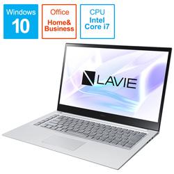 NEC(エヌイーシー) ノートパソコン PC-LV750RAS アルマイトシルバー [15.6型 /intel Core i7 /Optane:32GB /SSD:512GB /メモリ:8GB /2020年春モデル]