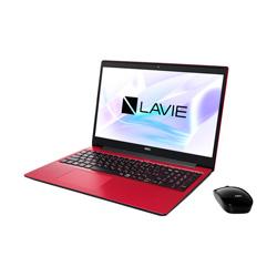 NEC(エヌイーシー) ノートパソコン PC-NS700RAR カームレッド [15.6型 /intel Core i7 /HDD:1TB /SSD:256GB /メモリ:8GB /2020年春モデル]