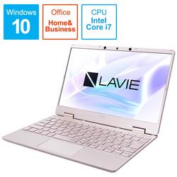 NEC(エヌイーシー) PC-NM750RAG-2 ノートパソコン LAVIE Note Mobile(NM750/RA サービスパック) メタリックピンク [12.5型 /intel Core i7 /SSD:512GB /メモリ:8GB]
