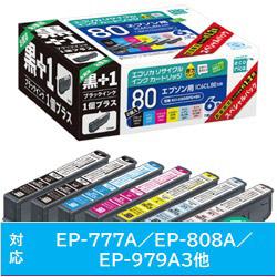 ECI-E806PS+BK 互換プリンターインク エプソン用 6色+黒