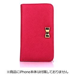 iPhone 7用 Wallet Case Ribbon ピンク Fantastick I7N06-16B761-04