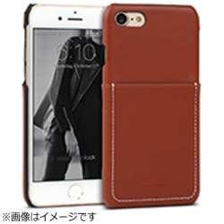 iPhone 7用 Pocket Bartype レッドブラウン Design Skin I7N06-16B765-06