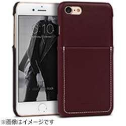 iPhone 7用 Pocket Bartype ダークブラウン Design Skin I7N06-16B765-19