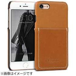 iPhone 7用 Pocket Bartype ブラウン Design Skin I7N06-16B765-18