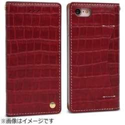 iPhone 7用 Premium Croco レッド Wetherby I7N06-16B767-06