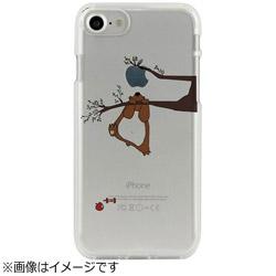 iPhone 7用 CLEAR CASE AnimalSeries Squirrel Dparks I7N06-16C784-00