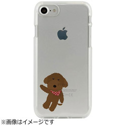 iPhone 7用 CLEAR CASE AnimalSeries poodle Dparks I7N06-16C784-02