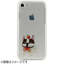 iPhone 7用 CLEAR CASE AnimalSeries French Bulldog Dparks I7N06-16C784-03