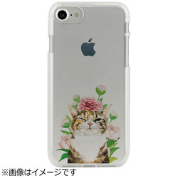 iPhone 7用 CLEAR CASE AnimalSeries Blink cat Dparks I7N06-16C784-99