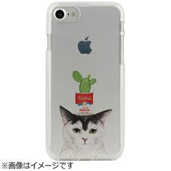 iPhone 7用 CLEAR CASE AnimalSeries Cactus cat Dparks I7N06-16C784-04