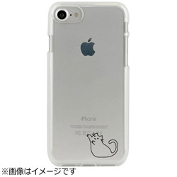iPhone 7用 CLEAR CASE AnimalSeries Coveted cat Dparks I7N06-16C784-06