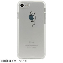 iPhone 7用 CLEAR CASE AnimalSeries Cats cling Dparks I7N06-16C784-07