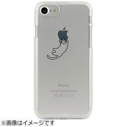 iPhone 7用 CLEAR CASE AnimalSeries Hanging cat Dparks I7N06-16C784-08