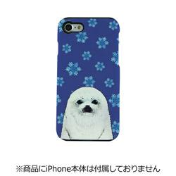 iPhone 7用 TOUGH CASE Animal Series Snow & seals Fantastick I7N06-16C787-01