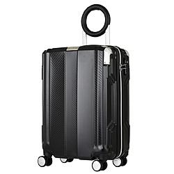 防犯ブザー搭載スーツケース 35L TRAVEL BUZZER(トラベルブザー) ブラック 6708-49-BK [TSAロック搭載]