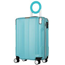 防犯ブザー搭載スーツケース 35L TRAVEL BUZZER(トラベルブザー) ミントグリーン 6708-49-MGR [TSAロック搭載]