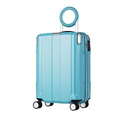 防犯ブザー搭載スーツケース 35L TRAVEL BUZZER(トラベルブザー) ミントグリーン 6720-49-MGR [TSAロック搭載]