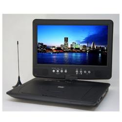 WIZZ 10.1型ポータブルDVDプレーヤー DV-PT1060 地上デジタル/ワンセグ対応