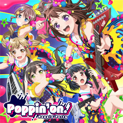 Poppin'Party / 1st Album「Poppin'on!」 通常盤 CD