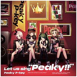 """インディーズ Peaky P-key/ Let us sing """"Peaky!!"""" 通常盤"""