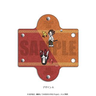 プレイフルマインドカンパニー 「SHAMAN KING」クリアマルチポーチ PlayP-A麻倉 葉&ハオ