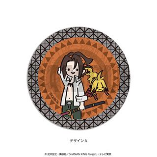 プレイフルマインドカンパニー 「SHAMAN KING」ダイヤカットクリアアクリルコースター PlayP-A麻倉 葉
