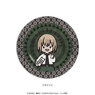 プレイフルマインドカンパニー 「SHAMAN KING」ダイヤカットクリアアクリルコースター PlayP-C小山田まん太