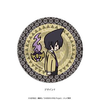 プレイフルマインドカンパニー 「SHAMAN KING」ダイヤカットクリアアクリルコースター PlayP-F道 蓮