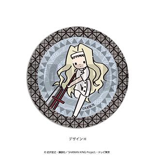 プレイフルマインドカンパニー 「SHAMAN KING」ダイヤカットクリアアクリルコースター PlayP-H エリザ
