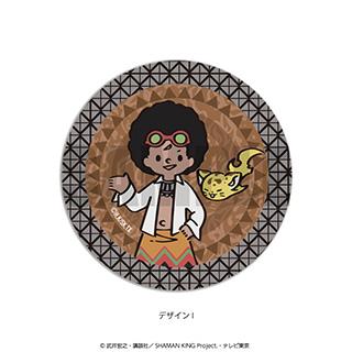 プレイフルマインドカンパニー 「SHAMAN KING」ダイヤカットクリアアクリルコースター PlayP-I チョコラブ