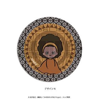 プレイフルマインドカンパニー 「SHAMAN KING」ダイヤカットクリアアクリルコースター PlayP-N オパチョ