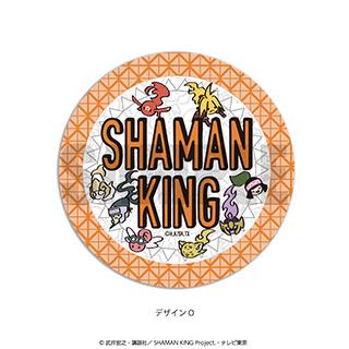 プレイフルマインドカンパニー 「SHAMAN KING」ダイヤカットクリアアクリルコースター PlayP-O 総柄(白)