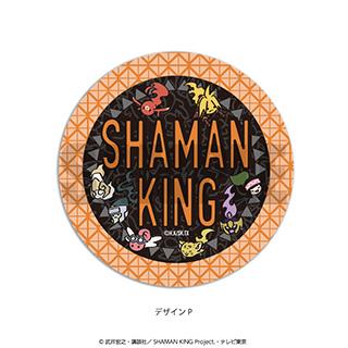 プレイフルマインドカンパニー 「SHAMAN KING」ダイヤカットクリアアクリルコースター PlayP-P 総柄(黒)