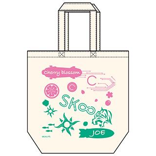 GRANUP SK∞ エスケーエイト キャンバストート Cherry blossom&ジョー