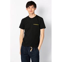 オリジナルTシャツ-黒-シンプルゴールド