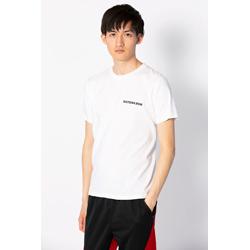 オリジナルTシャツ-白-シンプルブラック