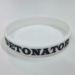 DETONATOR DeToNator(デトネーター) シリコンバンド白