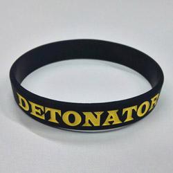 DETONATOR DeToNator(デトネーター) シリコンバンド黒