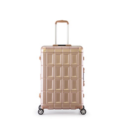 スーツケース ハードキャリー 95L PANTHEON(パンテオン) ピンクゴールド PTR-3300-28 [TSAロック搭載]