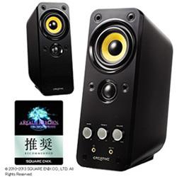 GW-T20-IIR PCスピーカー 「Creative GigaWorks T20 Series II」 (φ3.5ミニプラグ/AUX/ブラック)
