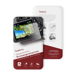 イージーカバー 強化ガラス 液晶保護フィルム ニコン D7500 用 GKD7500