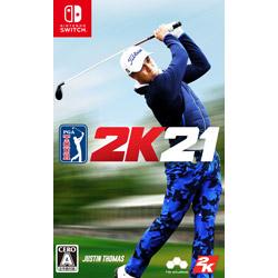 〔中古品〕ゴルフ PGAツアー 2K21   HAC-P-AXMC [Switch]