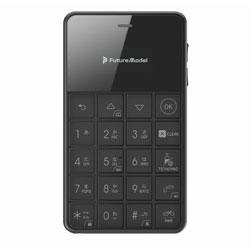 フューチャーモデル Niche Phone-S+ Black  ブラック MOB-N18-01-BLACK