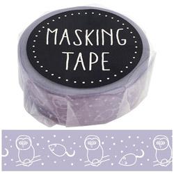 マスキングテープ フクロウ W01-GMT-0004