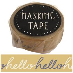 マスキングテープ ハロー W01-GMT-0010