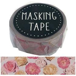 マスキングテープ シックフラワー W01-GMT-0013